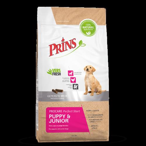 Prins ProCare Perfecte Start puppy & junior 15 kg.