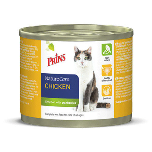 Prins NatureCare Cat 200 g Kip
