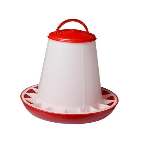 Olba Voersilo plastic 3 kg rood