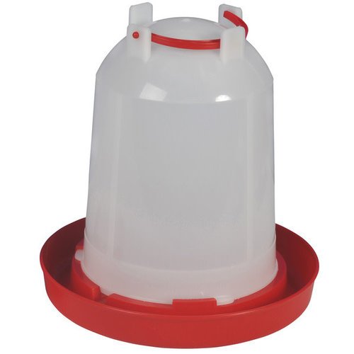Olba Drinktoren plastic 6 l rood