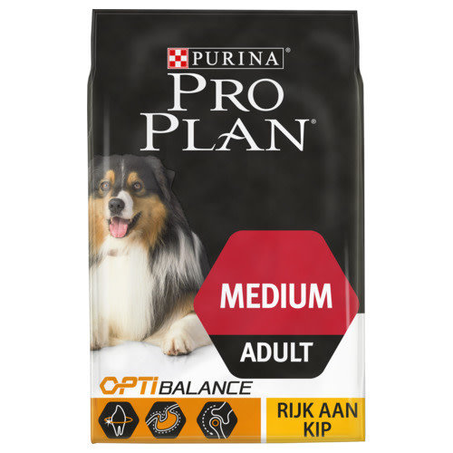 Pro Plan Dog adult medium kip 3 kg