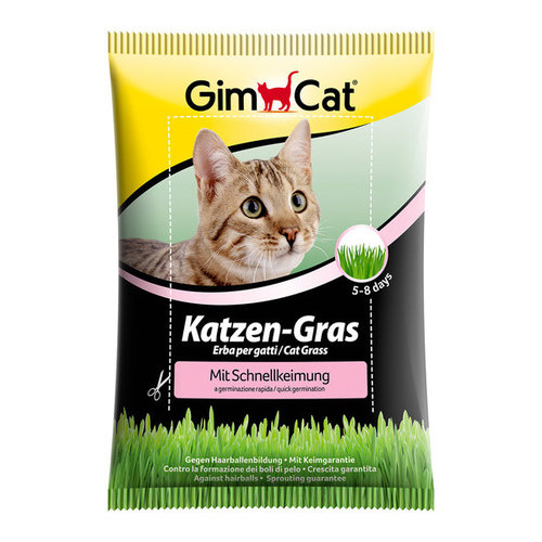 GimCat Kattengras met snelkiemzak 100 g