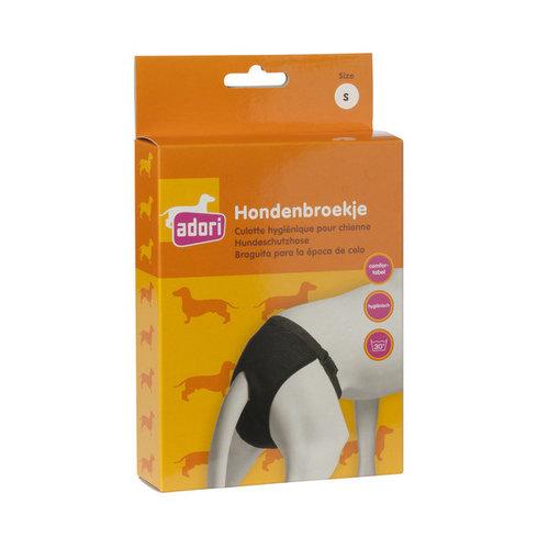 Adori Hondenbroek luxe s zwart Small 35-43 cm