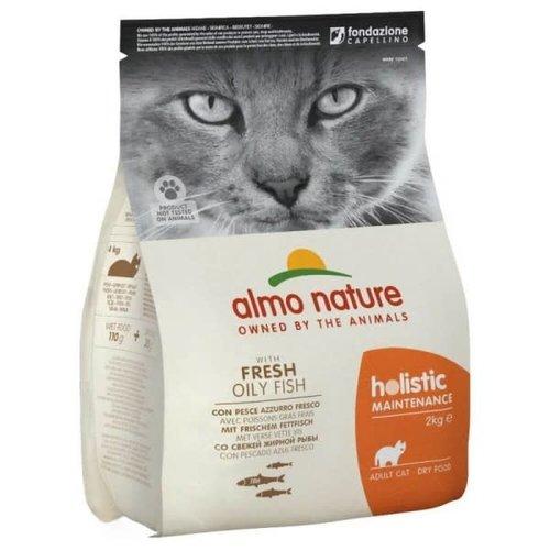 Almo Nature Almo Nature Kat Holistic Droogvoer - Maintenance - Vette Vis 2kg