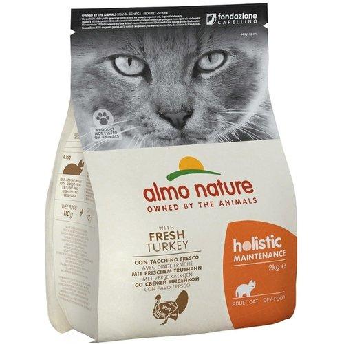 Almo Nature Almo Nature Kat Holistic Droogvoer - Maintenance - Kalkoen 2kg