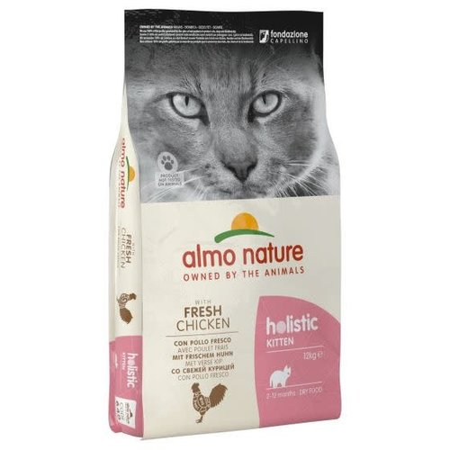 Almo Nature Almo Nature Kat Holistic Droogvoer - Kitten - Kip 2kg