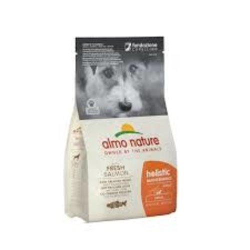 Almo Nature Almo Nature Hond Holistic Droogvoer - Maintenance - Zalm (XS-S) 400g