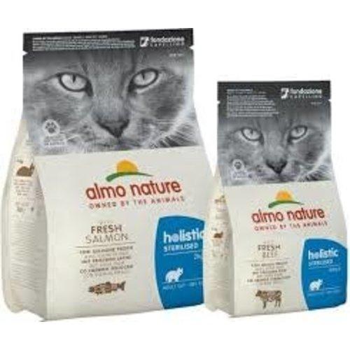 Almo Nature Almo Nature Kat Holistic Droogvoer - Sterilised - Rundvlees 2kg