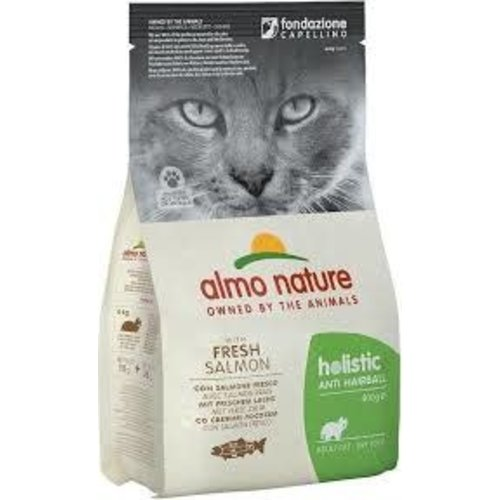 Almo Nature Almo Nature Kat Holistic Droogvoer - Anti-Hairball - Zalm 2kg
