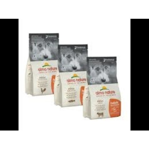 Almo Nature Almo Nature Hond Holistic Droogvoer - Maintenance - Rund (XS-S) 2kg