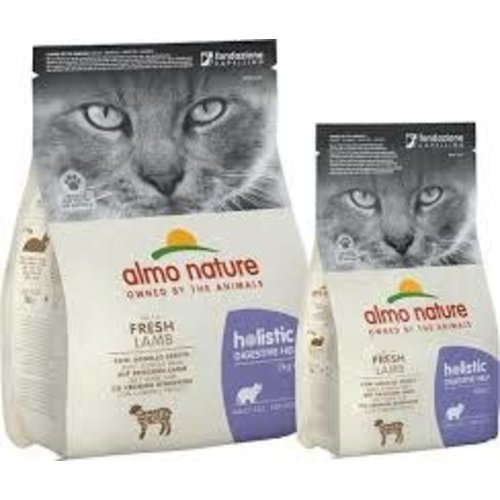 Almo Nature Almo Nature Kat Holistic Droogvoer - Digestive Help - Lam 400g