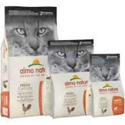 Almo Nature Almo Nature Kat Holistic Droogvoer - Maintenance - Kip 2kg
