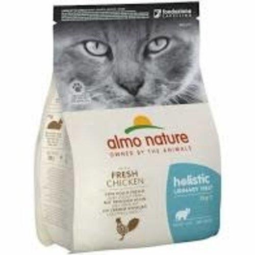 Almo Nature Almo Nature Kat Holistic Droogvoer - Urinary Help - Kip 2kg
