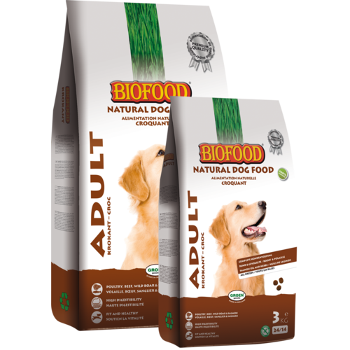 Biofood BF Krokant Adult 12.5 kg.