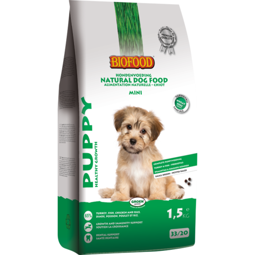 Biofood BF Puppy small breed 1.5 kg.