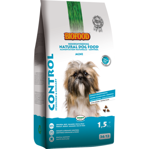 Biofood BF Control small breed 1.5 kg.