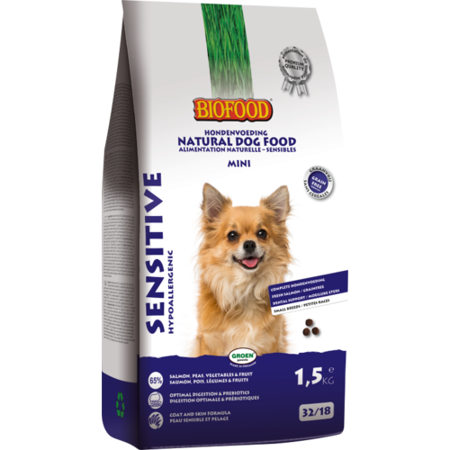 Biofood BF Sensitive small breed 1.5 kg.