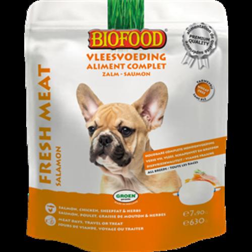 Biofood BF vleesvoeding compleet Zalm (7x90gr.)