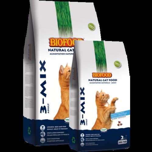 Biofood BF Kattenbrokjes 3- mix 2 kg.