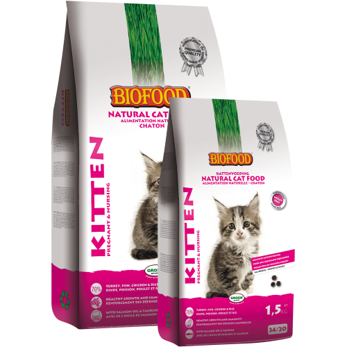 Biofood BF Kitten - pregnant/ nursing 1.5 kg.
