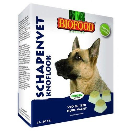 Biofood BF Schapenvet Knoflook 40 st.
