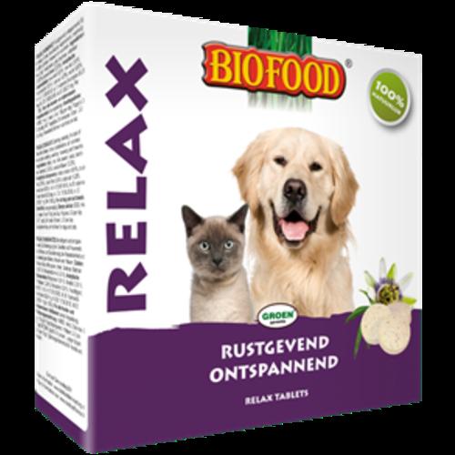 Biofood BF Relax tabletten hond/ kat 100 st.