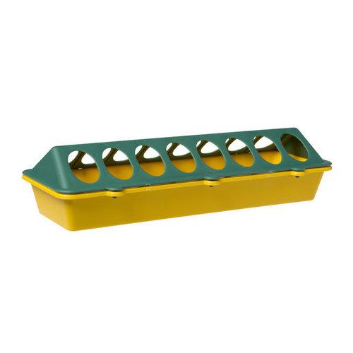 Olba Kuikenvoerbak plastic geel 30 cm