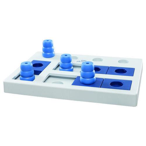 Trixie Dog activity chess denkspel 1.3 kg Donkerblauw
