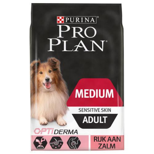 Pro Plan Dog adult medium sensitive 3 kg Zalm