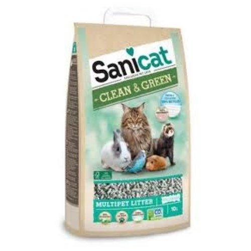 Sanicat Sanicat clean & green papier 10 ltr