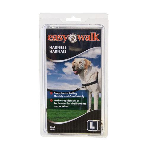 Trixie Easy walk anti-trektuig l zwart Large 66-91 cm