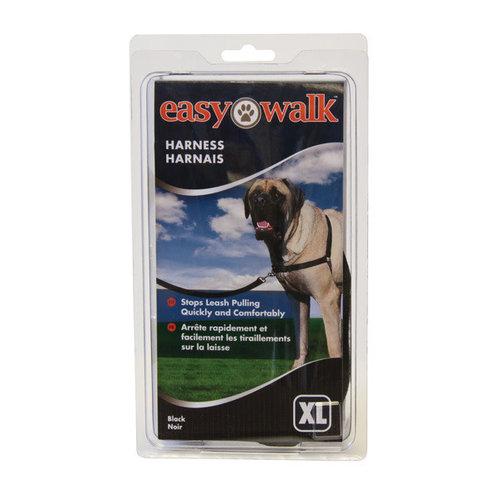 Trixie Easy walk anti-trektuig xl zwart XLarge 86-116 cm