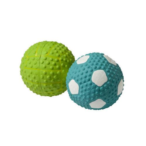 Adori Latex toy bal+pieper assorti 9,5 cm