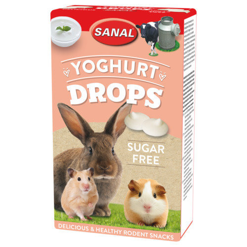Sanal Yoghurt Drops Sugar Free 45 g