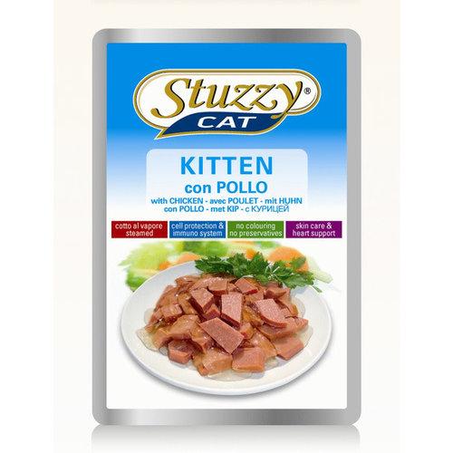 Stuzzy Pouch kitten kip 100 g
