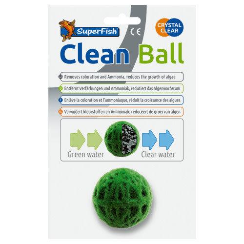 SuperFish Clean Ball Groen 12 cm