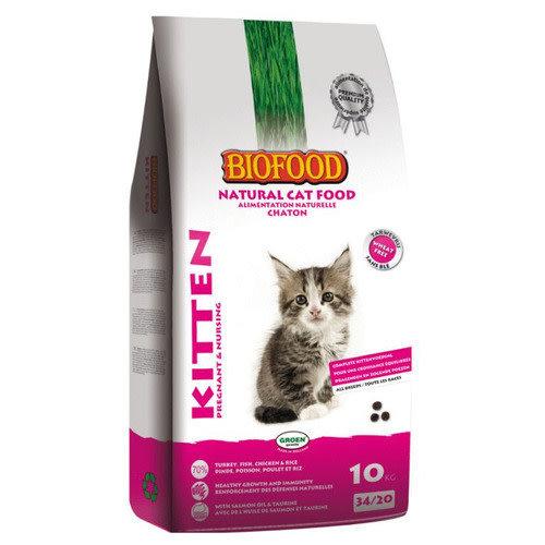 Biofood BF Kitten pregnant&nursing 10 kg Kalkoen