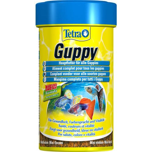 Tetra Guppy visvoer vlokken 100 ml