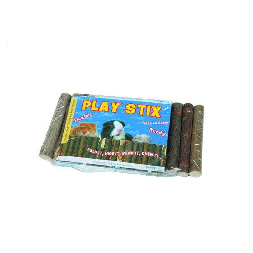 Happy Pet Play stix wilgenbrug houtkleur 21x11 cm