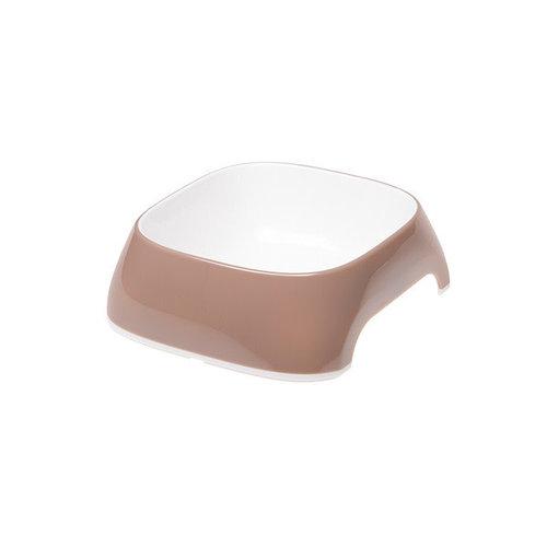 Ferplast Glam voerbak duifgrijs Medium 20x18,5x6 cm