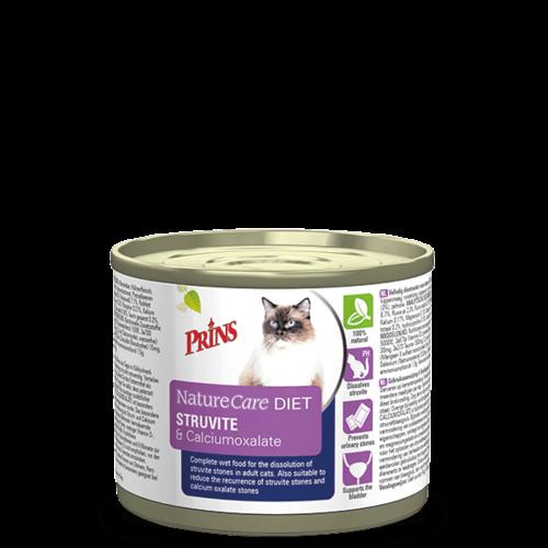Prins Dieetvoedingen kat Struvite & Calciumoxalate