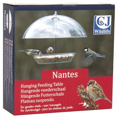 Wildbird Hangende voederschaal Nantes 30x30x25 cm