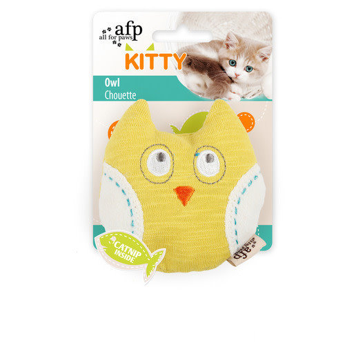 AFP All for paws kitty owl Assorti 9x8x3 cm