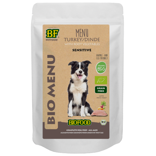Biofood Biofood Organic Kalkoen menu 150 g pouch