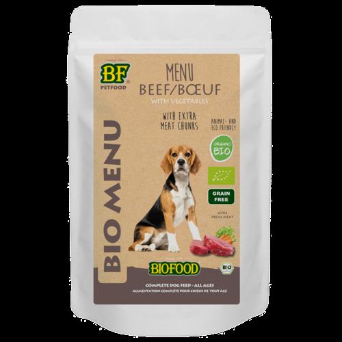 Biofood Biofood Organic Rund menu 150 g pouch