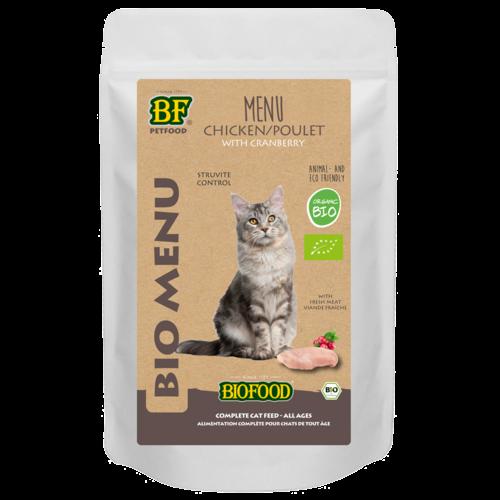 Biofood Biofood Organic Kip menu 100 g pouch