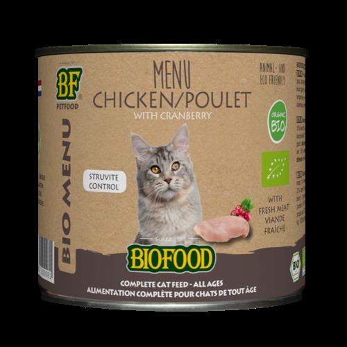 Biofood Biofood Organic Kip menu 200 g blik