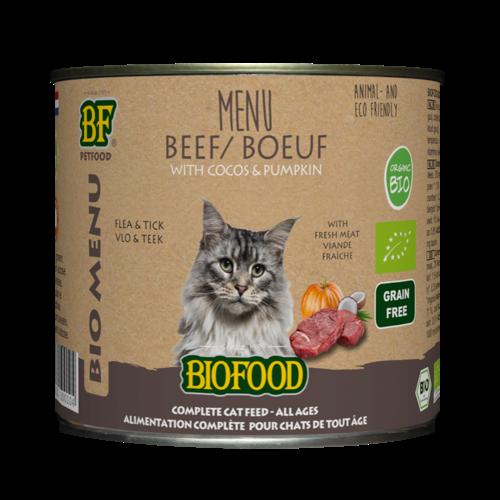 Biofood Biofood Organic Rund menu 200 g blik