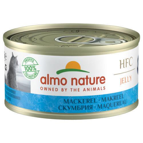 Almo Nature Almo Nature Kat HFC Natvoer  Jelly  Makreel 70g