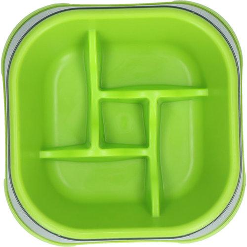 Eat Slow Live Longer Eat Slow Live Longer Amaze Pinwheel Green M